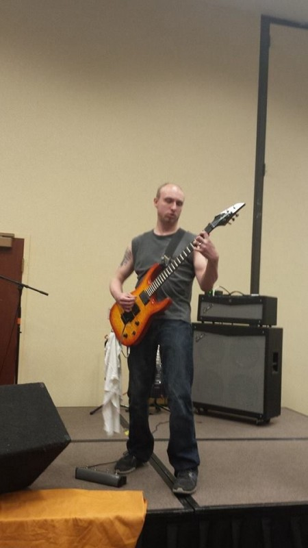johnnyrodell musicos guitarrista rock mattoon