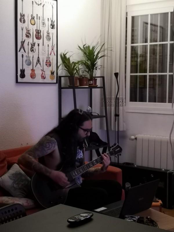 leorodhxc musicos guitarristas metal madrid
