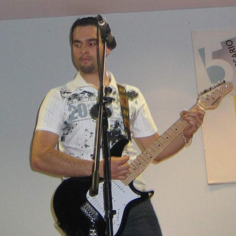 xanti musicos guitarrista country portugalete