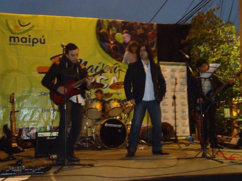 andresand musicos cantante rock santiago